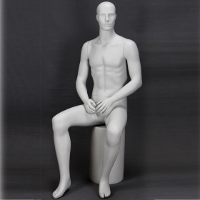 Mannequin homme assis 342GY