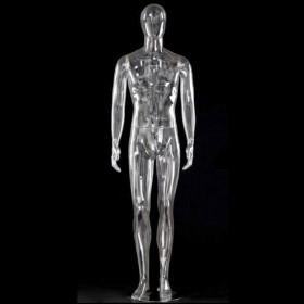Mannequin homme transparent