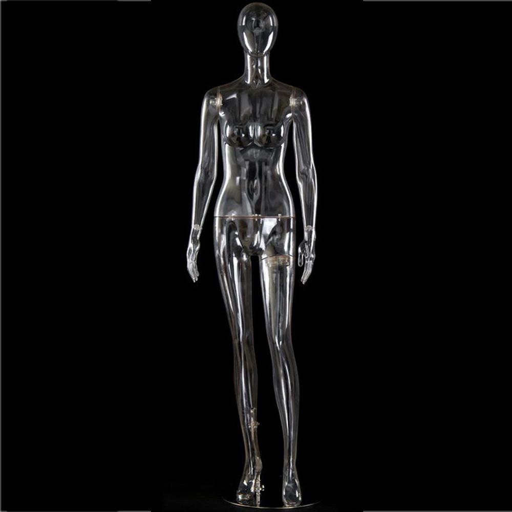 Mannequin femme transparent DTF1