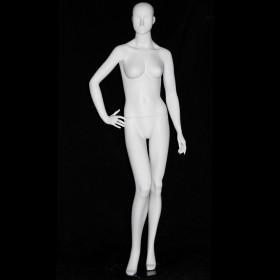 Mannequin d'étalage abstrait blanc S78