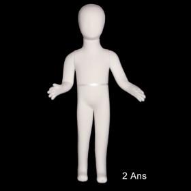 Mannequin enfant flexible taille 2 ans