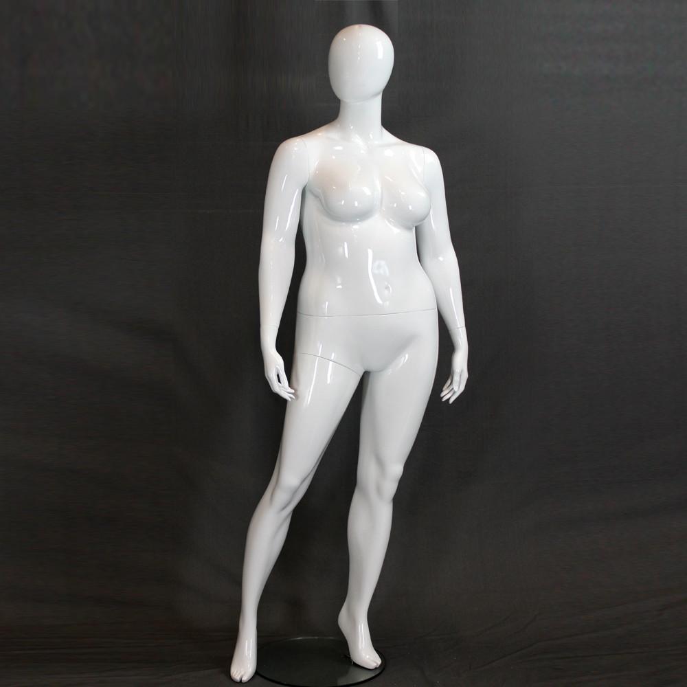 Mannequin femme abstrait grande taille