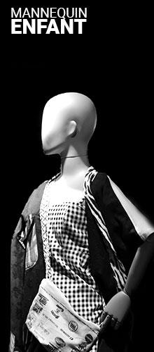 Mannequin de vitrine enfant